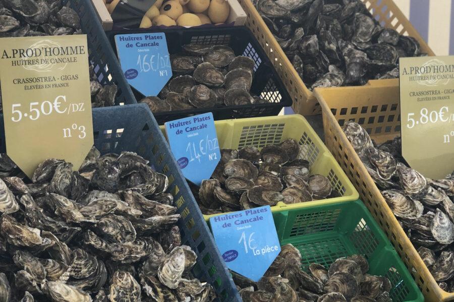 Retrouvez-nous tous les samedi et dimanche au marché aux huîtres de Cancale !